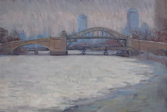 BU Bridge, February