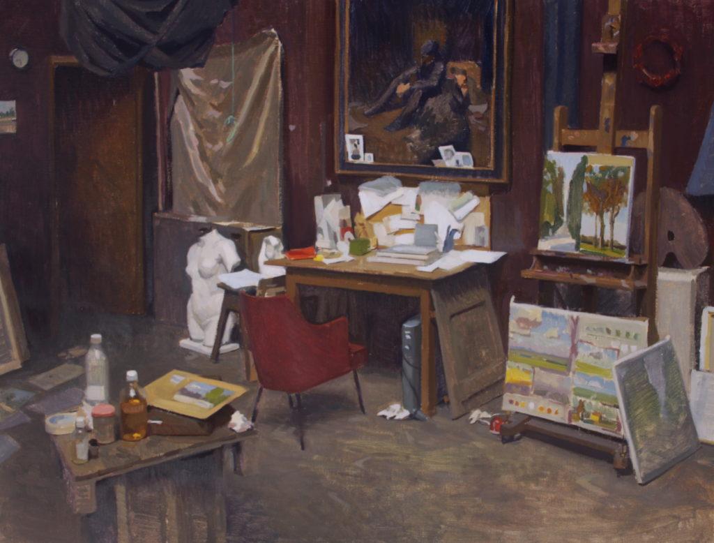 Elegant Below, A Couple Of Altweru0027s Past Interior Paintings: