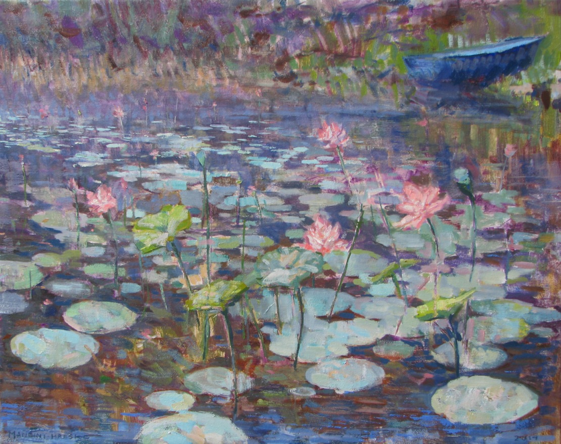Lotus and Lilies 22x28""