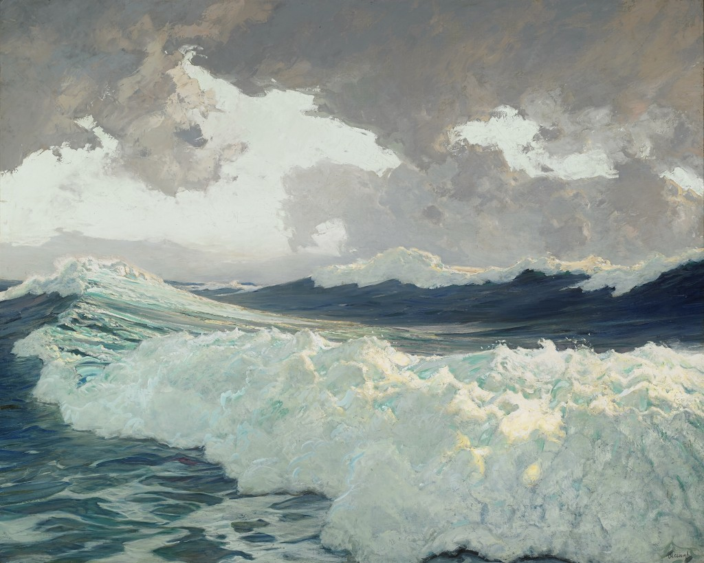 The Ocean, Frederick J Waugh 39.5x49.5