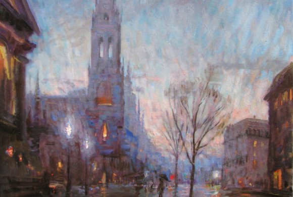 Twilight, Berkeley St 30×28″