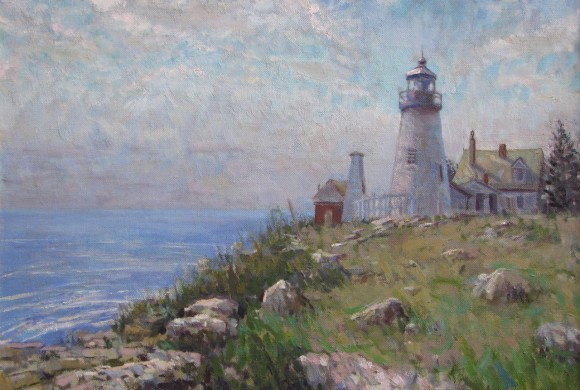 Pemaquid Lighthouse 26×36″
