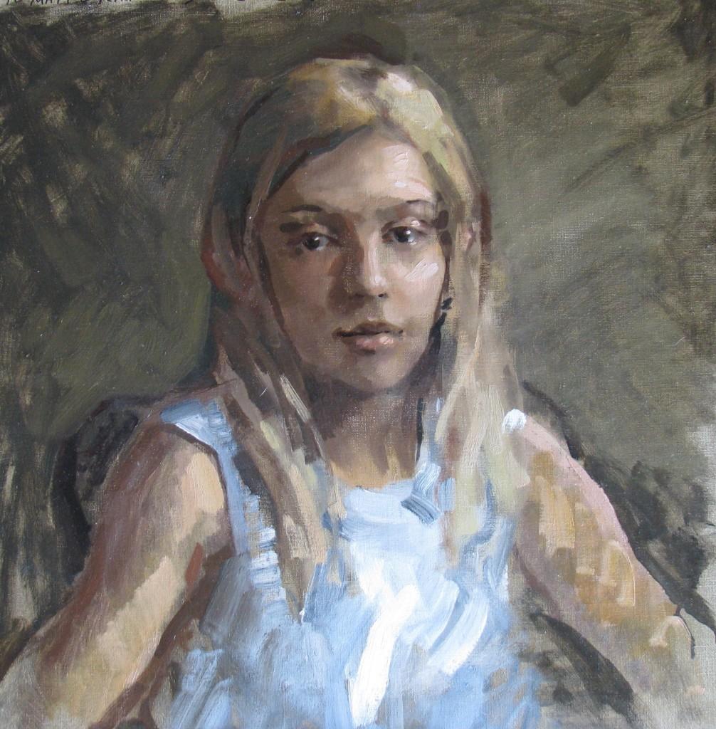Natalie Sketch 24x24