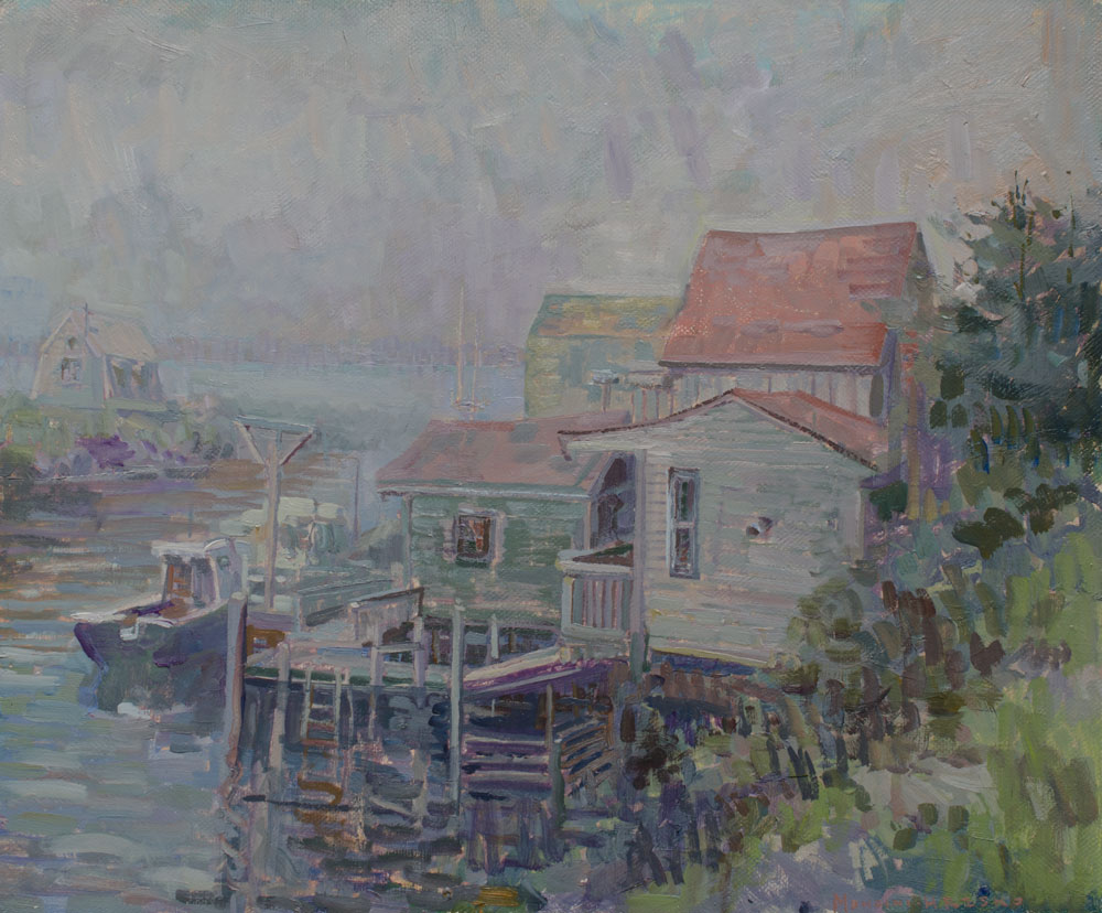 Docks-in-Fog-20x24'