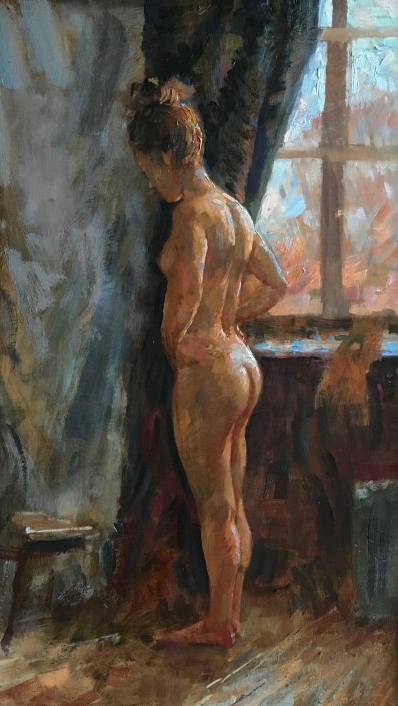 Angie by Window