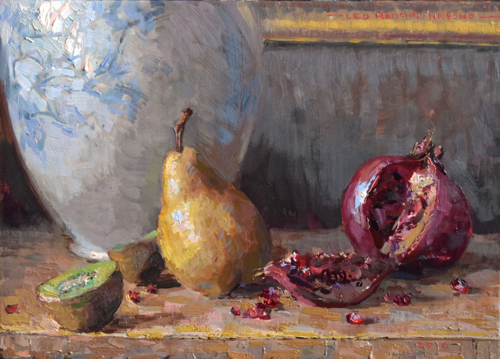 Pear-and-Pomegranate-25x35