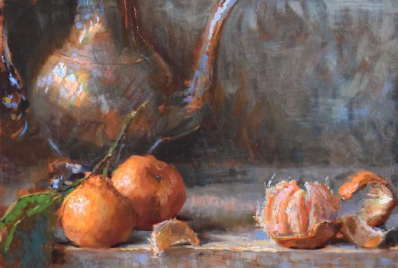 Satsuma Mandarins 10×14″