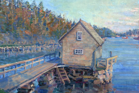 Golden Hour, Allen Cove 14×18″