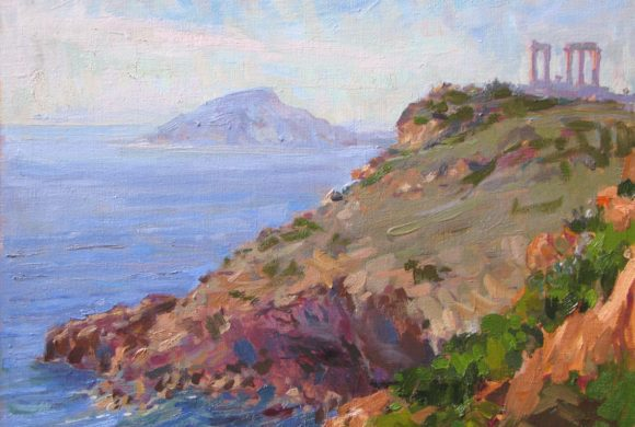 Cape Sounion 11×14