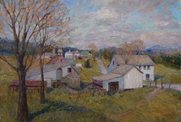 Early Spring, Fairfield VT 32×40″