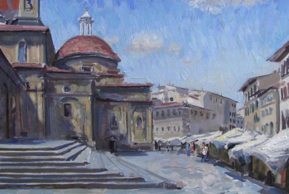 San Lorenzo Market 12×16″