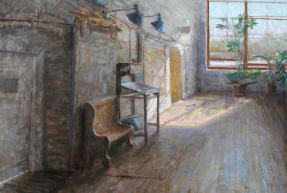 Summer Light, Studio Hallway 36×41″