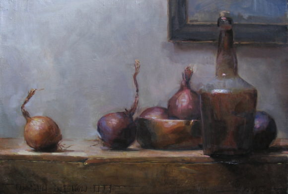 Still Life with Bowl and Onions